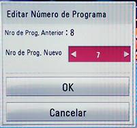 Editar numero de programa LG 32LH500