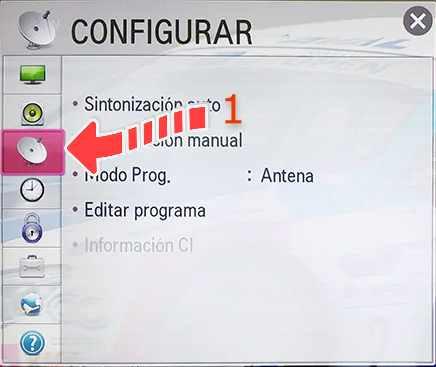 Ordenar canales LG NetCast 1