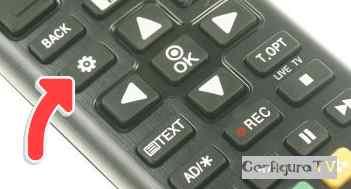 boton ajustes mando normal de lg