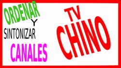 Ordenar canales tv chino Magna