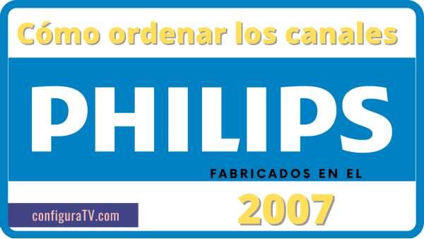 Configurar TV Philips 2007