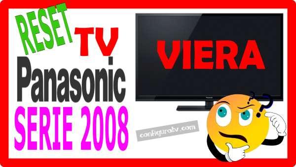 Reset Panasonic antiguo 2008